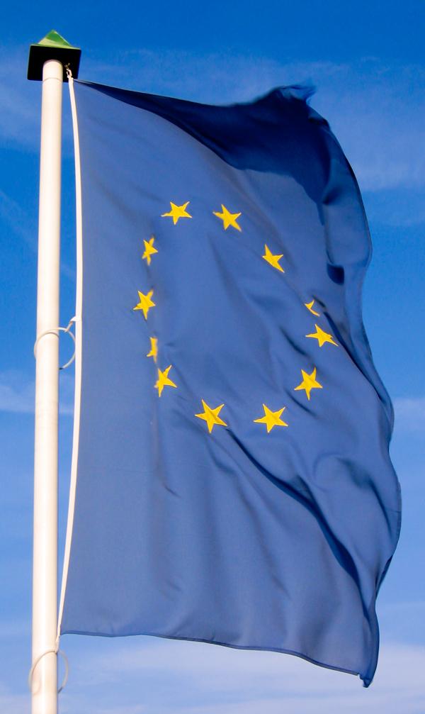 Flagge der Eurozone