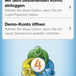 MT4 App iPhone